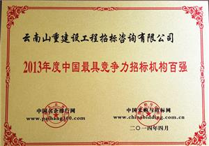 中国最具竞争力vwin德赢国际机构百强